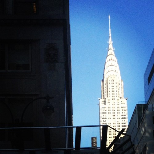 View from outside the @AgapeMatch office.  (Taken with Instagram at Agape Match - NYC's Premier Matchmaking Service)