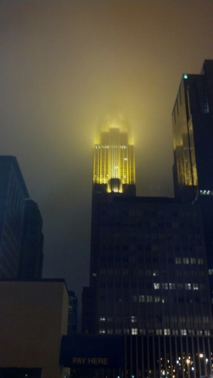 Feels like were in Gotham.