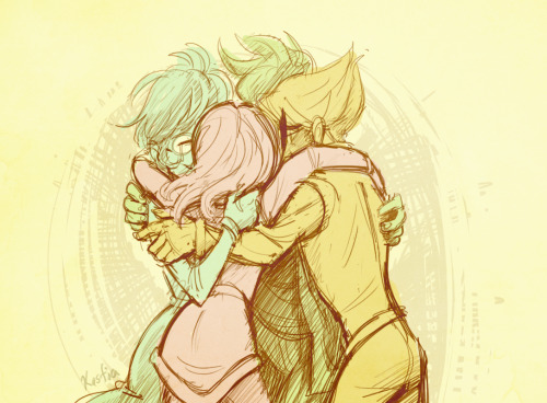 Dang, group hugs are hard to draw… And yes, the newest Homestuck flash gave me a lot of Alpha Kid feels. I really hope they can squeeze in a group hug before any more craziness and awkwardness goes down like we all know it will.