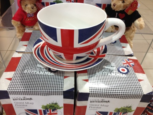 It doesn't get much more British than this.