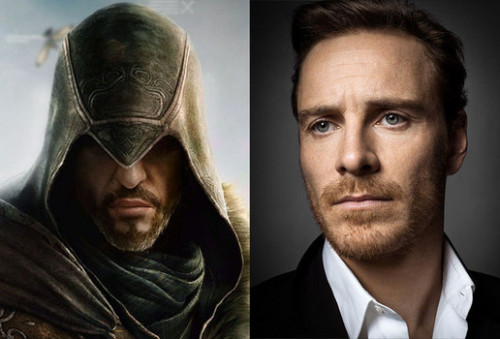 theawkwardgamer:  gamefreaksnz:  Michael Fassbender to star in Assassin's Creed film  Bafta-nominated actor Michael Fassbender has signed up to star in a film adaptation of the blockbuster video game franchise Assassin's Creed.  YES.