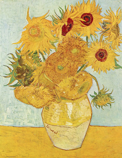 Sunflowers, Vincent van Gogh c.1888