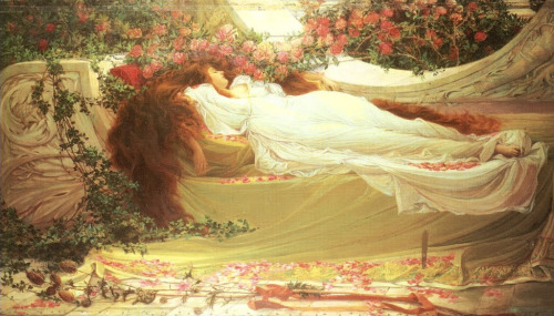 fleurdulys:  Sleeping Beauty - Thomas Ralph Spence