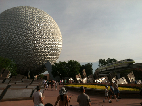 Epcot/monorail photo #368