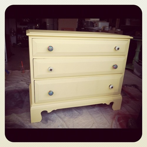 Juni's Dresser! (Taken with Instagram)