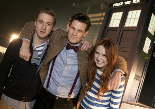 Doctor Who returns to San Diego Comic-Con This year's panel, moderated by The Nerdist Chris Hardwick, will feature producers Caroline Skinner and Steven Moffat and stars, Matt Smith, Karen Gillan, and Arthur Darvill in his first appearance at San Diego Comic-Con Get details on upcoming Doctor Who specials to air before the new series starts and upcoming episodes of The Nerdist on BBC America over at Almost Nerdy.