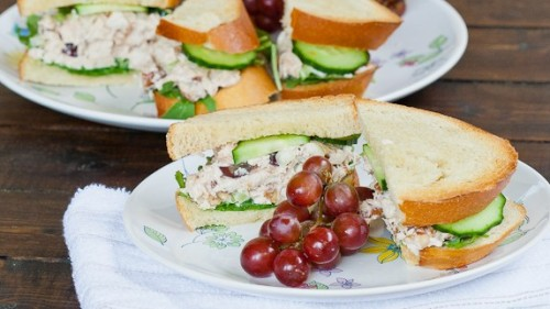 knockout chicken salad sandwich.