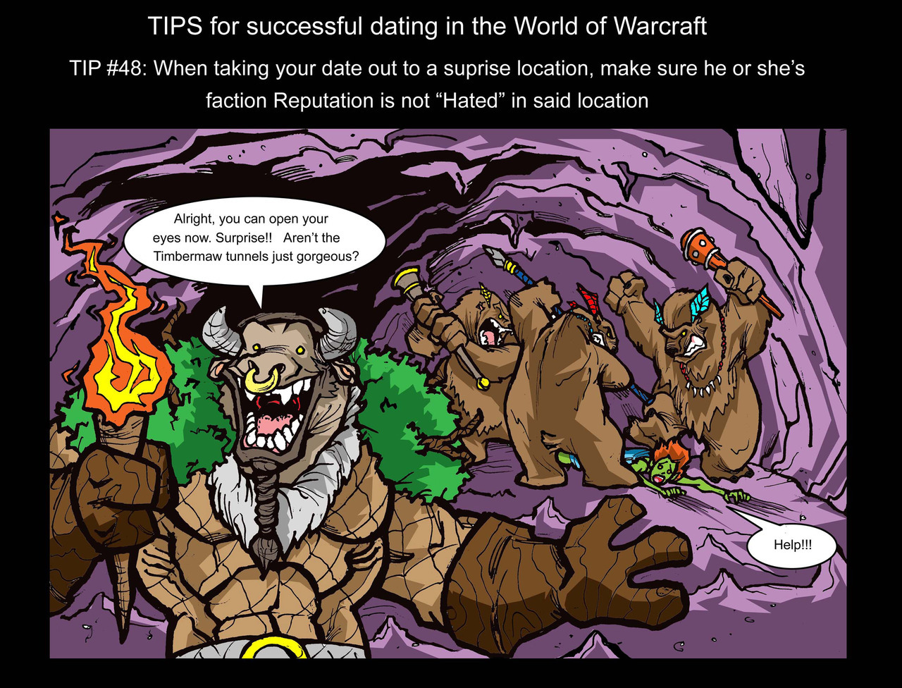 Tips for successful dating in WoW - #48 (Good thing this doesn't apply anymore. lol)