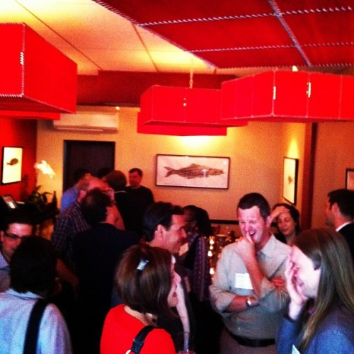 Socializing  (Taken with Instagram at Michael's Genuine Food)