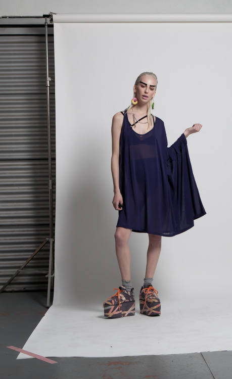 Sneak peek at Jimmy D S/S 2013 = 'The End' Dress.  Read all about delightful James and his inspirations for the new collection on FashioNZ:  http://www.fashionz.co.nz/news/d-is-for-dobson.html.