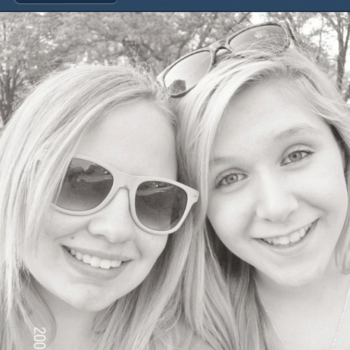 Libby and amy:)  (Taken with Instagram)