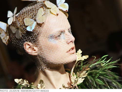 Check out our favorite beauty looks from the Paris Haute Couture shows!