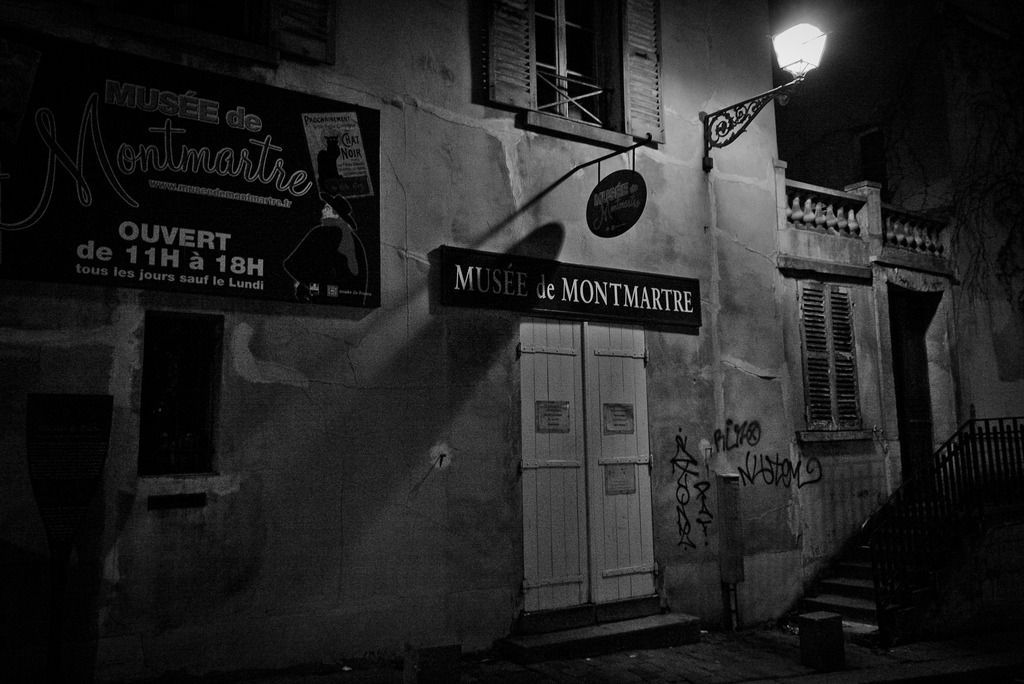 January 4, 2011 It's closed now Montmartre