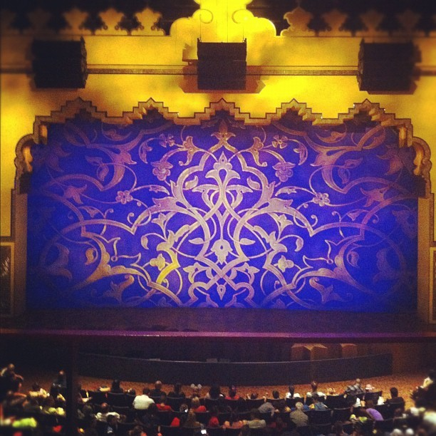 About to watch Aladdin! (Taken with Instagram)