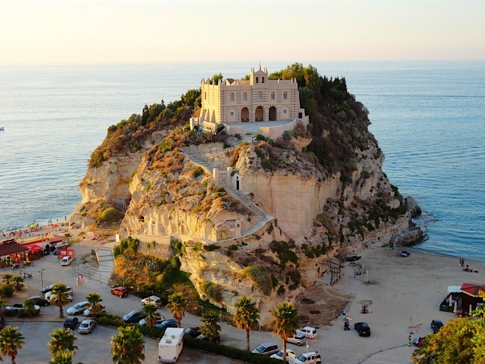 ysvoice:  | ♕ |  Castle on the Beach - Tropea, Southern Italy  | by © Magdeburg472