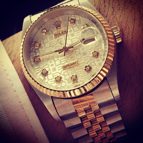 #fashion #style #rolex #men #watch #time  (Taken with Instagram)