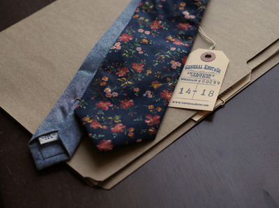 General Knot & Co. - Floral Neckties | Anchor Division