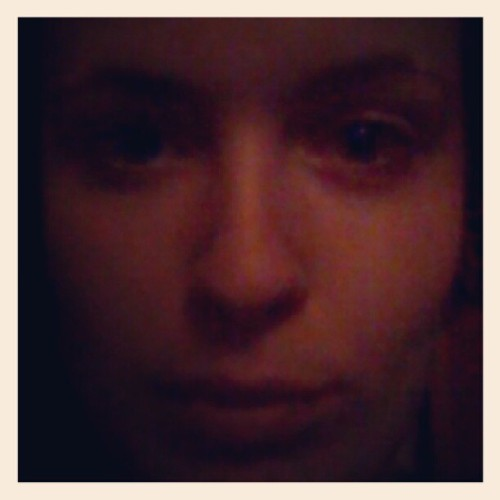 No makeup face!  (Taken with Instagram)