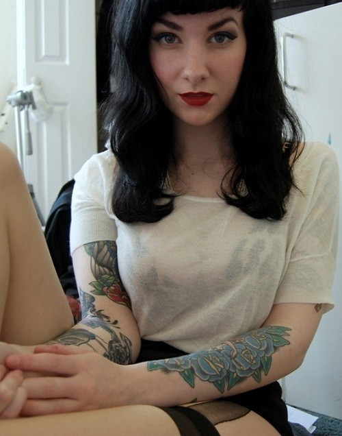 heyanawhatsyournameagain:  Rockabilly Style / ▲ on We Heart It. http://weheartit.com/entry/32299746