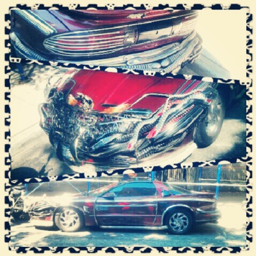 #SickAssRide #Car #Badass #HeavyMetal #NYC #Insta #Instagram #Instaphoto #PhotoOfTheDay #RockIn #Awesome (Taken with Instagram)
