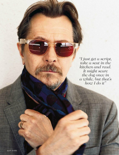 bohemea:  Gary Oldman: The Second Act - Vogue UK by Matt Jones, August 2012