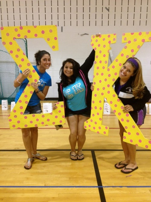sorority-l0ve:  Love these letters!