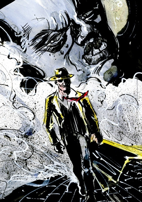 Dick Tracy by Dezi Sienty http://Dezicnt.com
