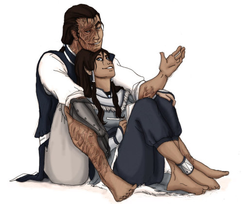 fuckyeahavatarshipping:  Korra and Tarrlok: Tactful by ~xcgirl08