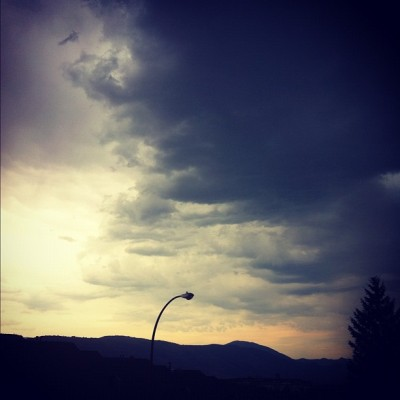 #kamloops storm  (Taken with Instagram)