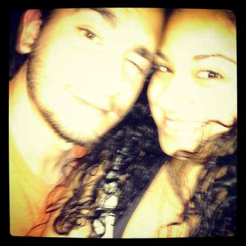 Always making a face. Lol #MonkeyButt #boyfriend #LoveHim  (Taken with Instagram)