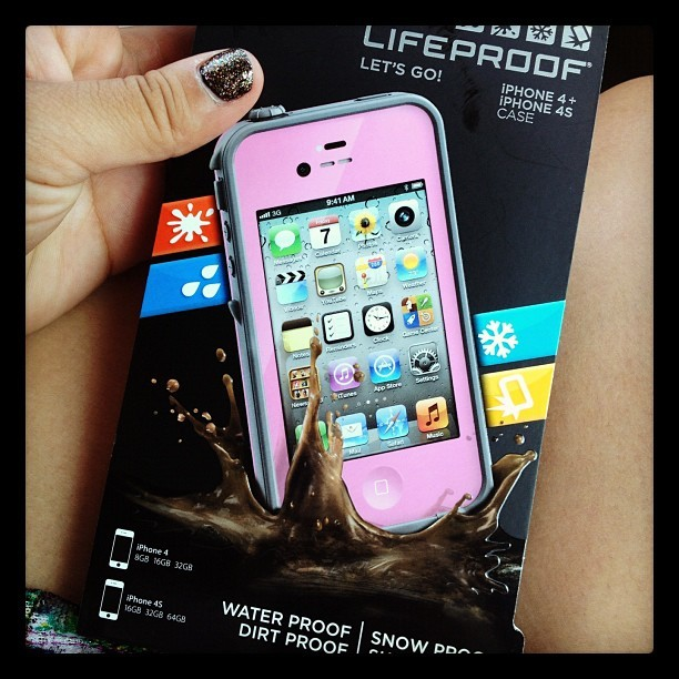 Got my #lifeproof #iphonecase 💗yayayay get at me nature  (Taken with Instagram)
