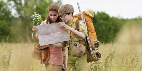 "Moonrise Kingdom | Touted As Best Movie of 2012?  We'll See… The second movie that I ended up seeing was Moonrise Kingdom.  I was a little bit skeptical going into this seeing the tag lines, ""Best Movie of 2012"" and ""OMG.  You have to go see this!""  But I do have to say that I was pleasantly surprised. My quickie review is that it was amazing.  Maybe not the best movie of 2012 but certainly in the top three.  I'd pay full price tickets more than once, I'll say that much for it. Quite possibly the thing that made this movie stand out from all of the rest released this year was the cinematography.  Warm yellowed tones, large panoramic like images, smooth side scrolling scenes.  Everything looked amazing!  And the aged look was a nice touch that constantly reminded me that this was set in the 60's. The cast was literally all star.  Bill Murray, Bruce Willis, Ed Norton, Tilda Swinton.  Seriously, Edward Norton has to be the most likable guy to ever get borned. And all of the children were great!  They all delivered the lines in a way that made me forget who they were.  Especially Bruce Willis.  Even if this movie was way out of the way from his usual repertoire he played his part with a class of eliticism. I honestly can't think of one scene that didn't have me smiling.  Every bit of this was memorable.  The plot was complex and focused.  And it reminded me of adventure tales like Huck Finn.  It was truly endearing.  A story of young love with freaking fantastical exploration! It is hard for me to pick anything out of this that was bad.  I mean really.  I can't at the moment.  I'll probably need a second showing, but it was great.  Full price theater ticket all the way.  And while it may be a little bit difficult to find this movie playing anywhere it's worth the road trip.  I'm not gonna say greatest movie of 2012 but I am gonna say that it was every bit as good as The Avengers without the franchise icing.  If you're looking for something in the vein of the Royal Tenenbaums this is really gonna draw your attention. ""★★★★★"""