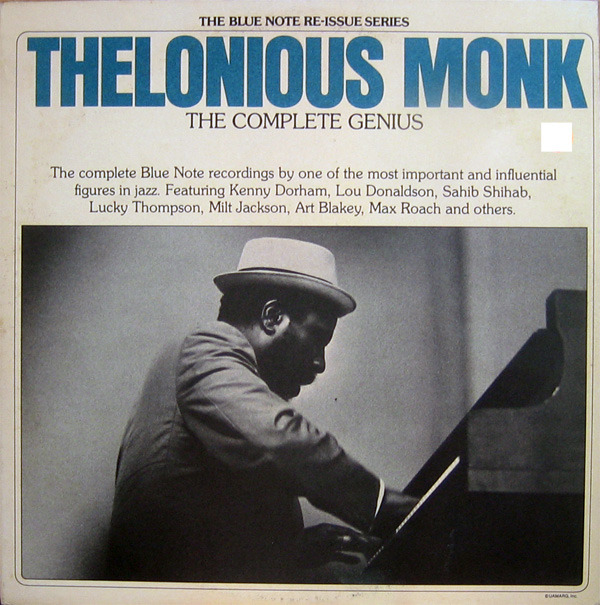Thelonious Monk, The Complete Genius