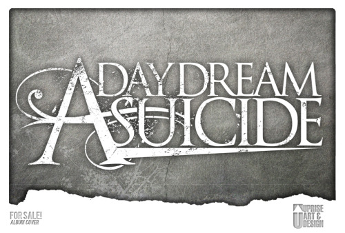 Logo/Identity design for a band called A Daydream Suicide. Really excited on all the designs I did for this band, unfortunately the band broke up before they had a chance to show all of designs. Nonetheless I decided to post their logo I did for them for you all to see the variety of logo's we can offer. Interested in purchasing a design for your band or company? Please email me at: upriseart@gmail.com