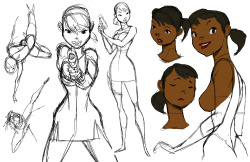 Here is another of the character roughs for the short. I'm trying to do something different as far as style that blends euro, disney and anime. Just a rough!