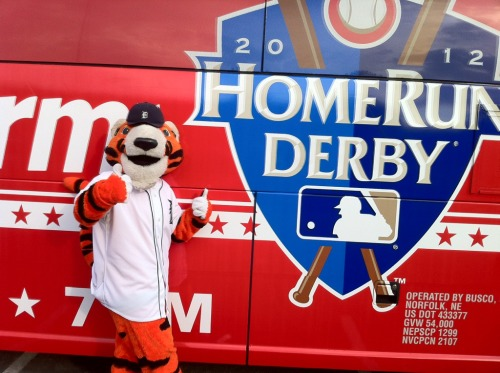 PAWS outside Kauffman Stadium before Home Run Derby.
