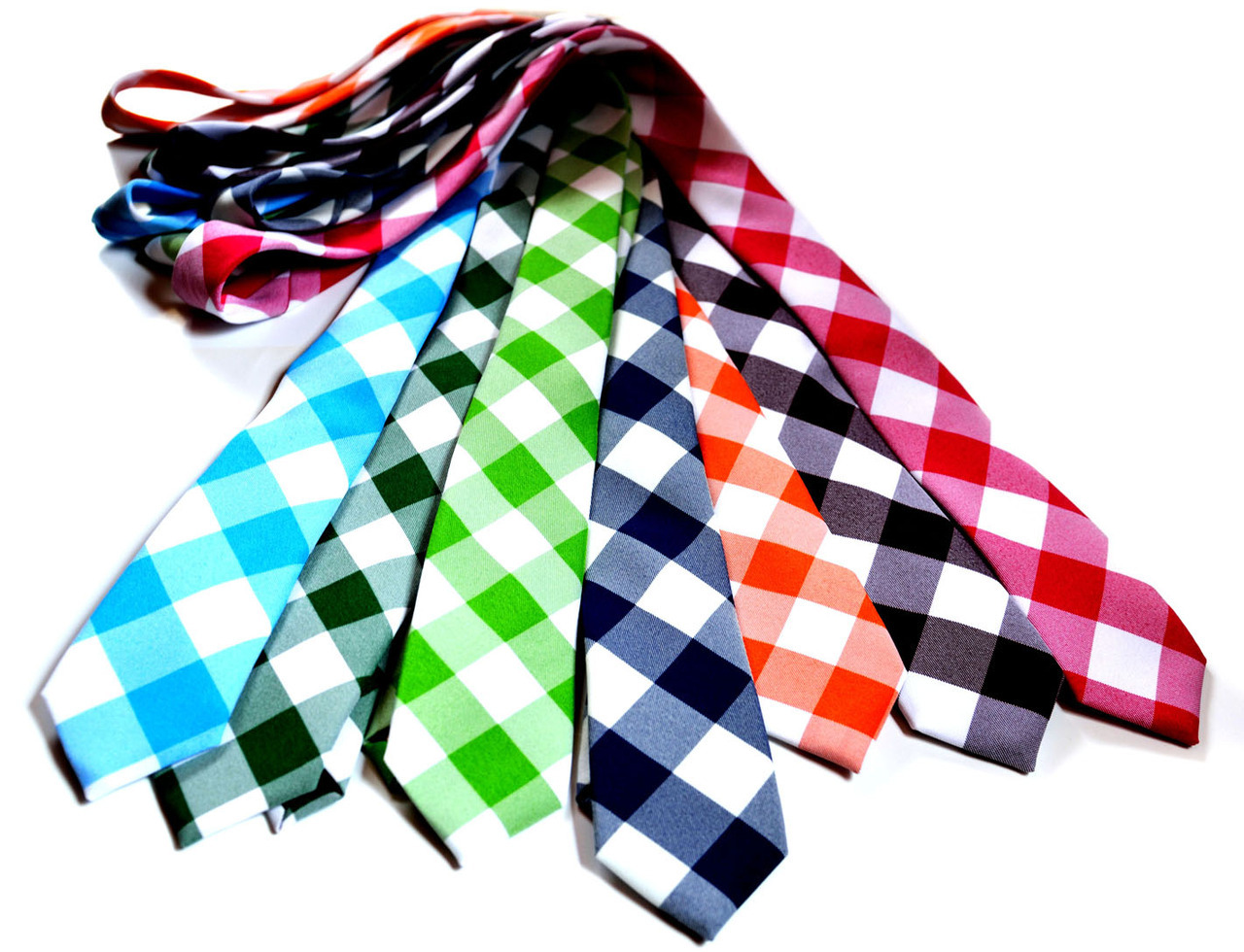 Gingham Ties… must have!