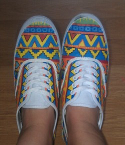 My shoes i painted! check out more here.