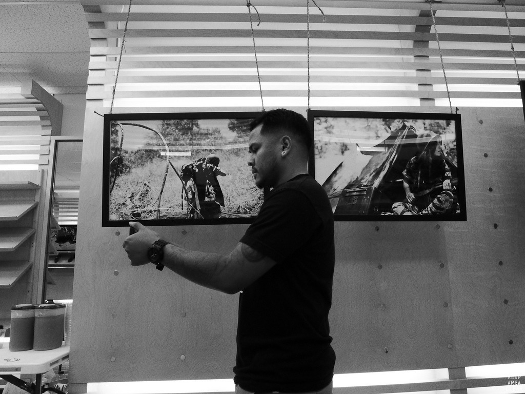 Re-Cap of NO MANS' LAND Photo Exhibit by Jayson Palacio (KAC) For more go on - www.KeepAreaClear.com