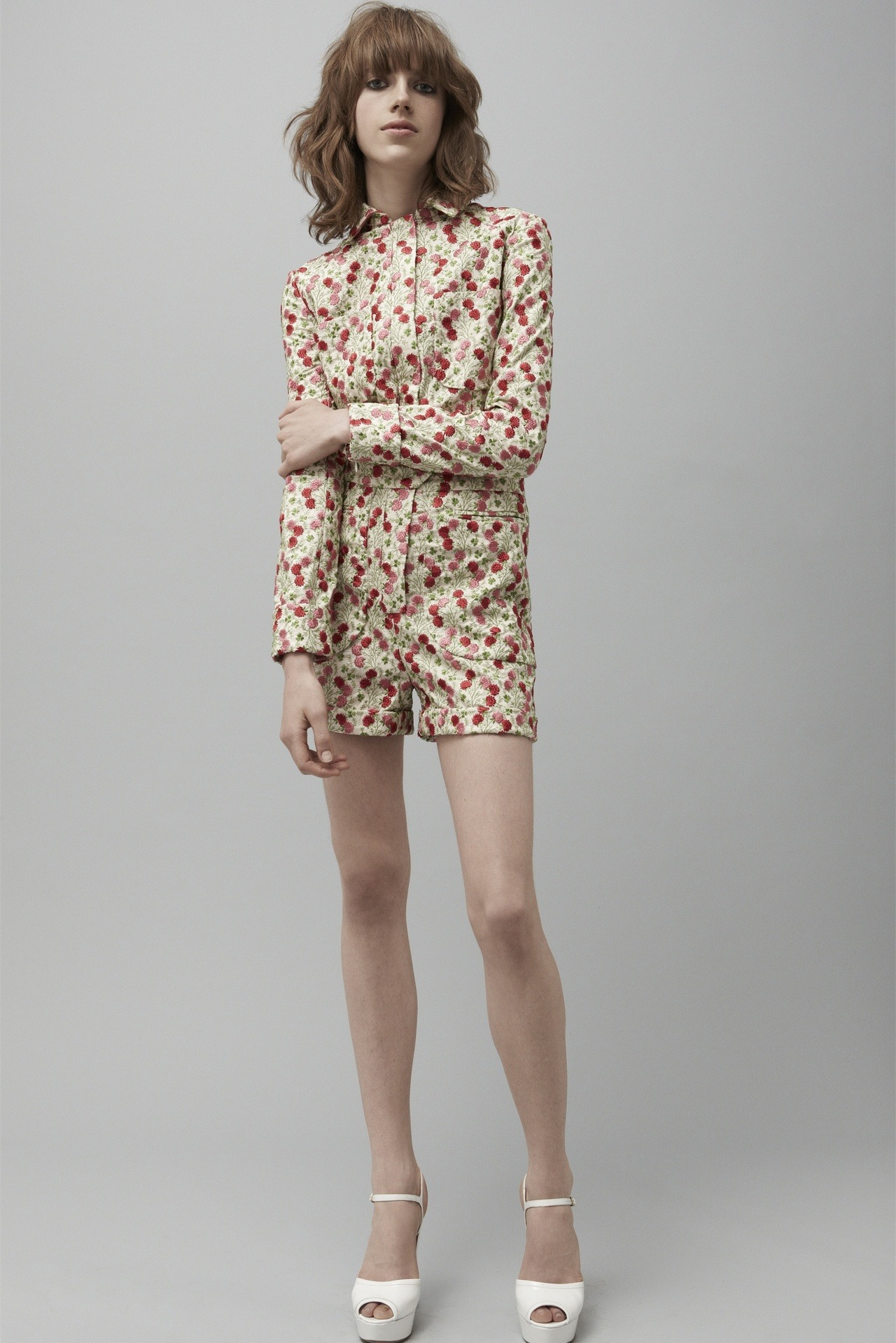 Sojourner Morrell for Jill Stuart, resort 2013