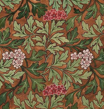 stilllifequickheart:  Morris & Co. Design for Wallpaper 19th century