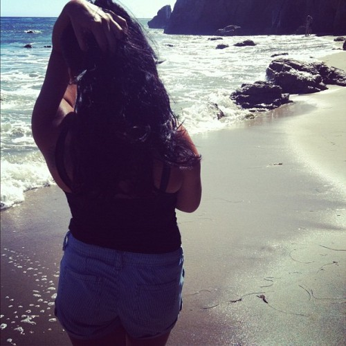 🌊 #hair #summer #tattoo #waves #sexy #model #godlovesugly  (Taken with Instagram)