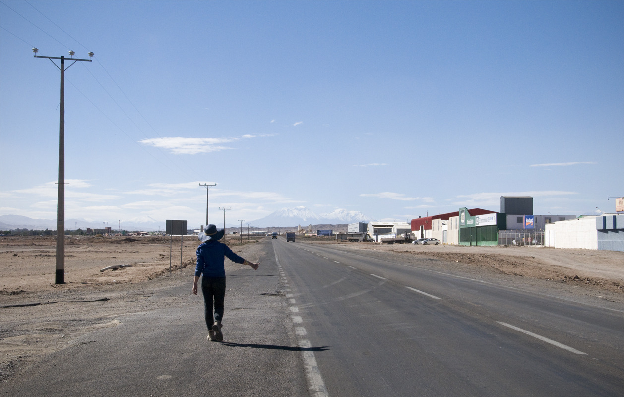 Back on the road Calama, Chile - © Diego Cupolo 2012