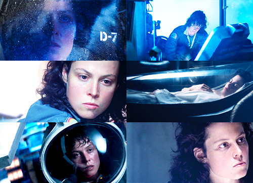 Ellen Ripley + blue - asked by drconnors