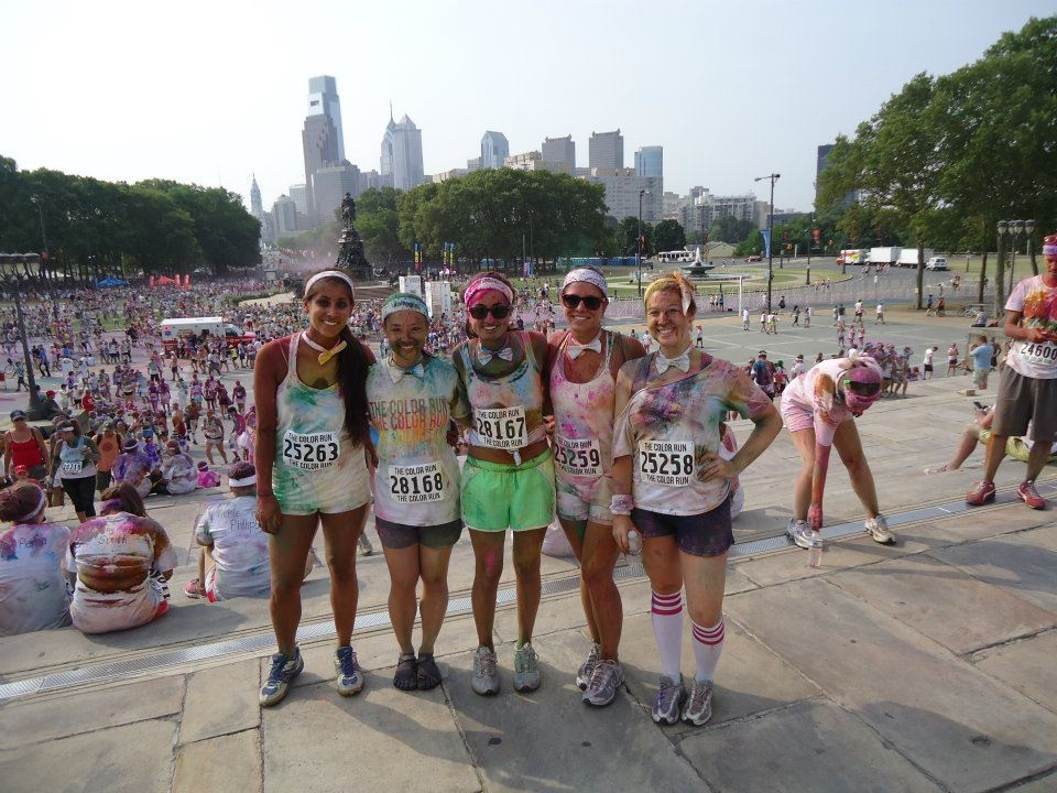 Bow Tie Co. was represented at The Color Run on Sunday in Philly!