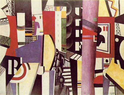 Fernand Leger- The City (1919)