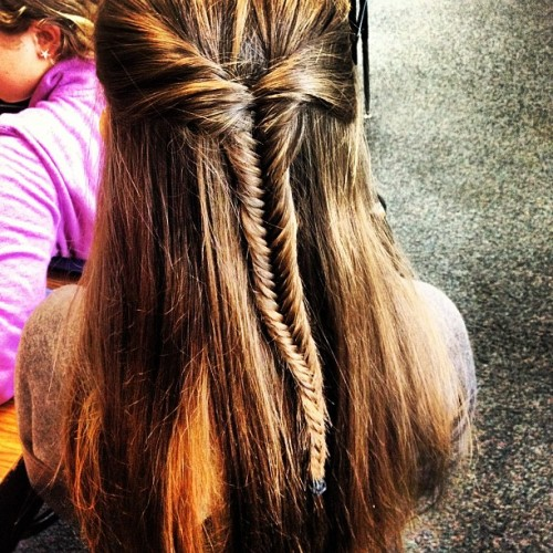 #fishtail #braid #cool #pretty (Taken with Instagram)