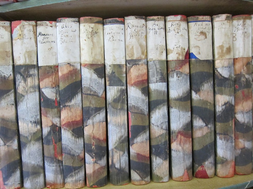 Virginia Woolf's personal collection of William Shakespeare's works.