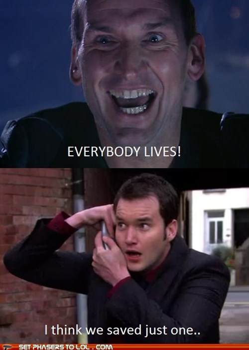 The SUBTLE differences between Doctor Who and Torchwood. XD