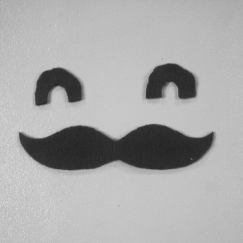 Fabric stache face! #pictureoftheday #picture #imagery #imageoftheday #image #art #artwork #artoftheday #simple #simplistic #minimal #minimalistic #cute #instagram #instamood #instagood #instafamous #instaaddict #instanew #instahub #instagramhub #moustache #happy  (Taken with Instagram)